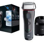Media Markt Beauty Tiefpreis Woche: heute z.B. BRAUN Series 5 5050cc eRasierer mit Reinigungsstation für 69€ statt 91€ – Top!