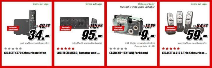 Media Markt Büro Tiefpreis Woche: heute z.B. EPSON WorkForce Pro WF 3725DWF Tintenstrahler 4 1 für 89€ (statt 141€)