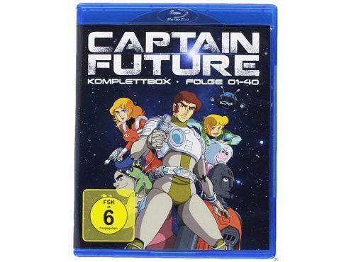 Captain Future Komplettbox als Blu ray für 37,99€ (statt 53€)