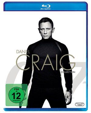 James Bond   Daniel Craig Collection inkl. Spectre auf Blu ray für 18€ (statt 24€)