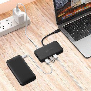 dodocool USB C Hub mit RJ45, 3 x USB 3.0, HDMI und VGA für 31.99€ (statt 40€)
