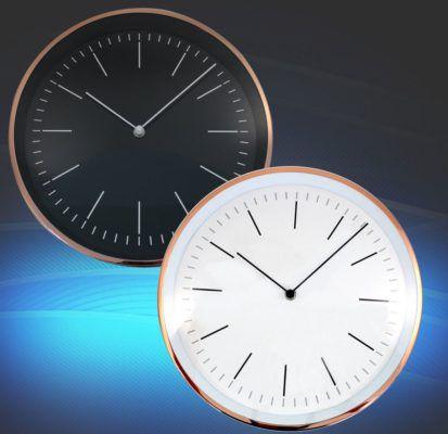 Eaxus 78610   Wanduhren 30cm Durchmesser für 9,99€ (statt 15€)