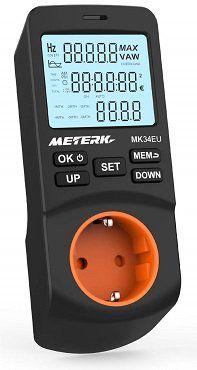 Meterk Energiemessgerät mit zeitgesteuerter Abschaltfunktion für 9,99€ (statt 15€)   bei Prime