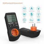 Meterk Energiemessgerät mit zeitgesteuerter Abschaltfunktion für 11,89€ (statt 17€)