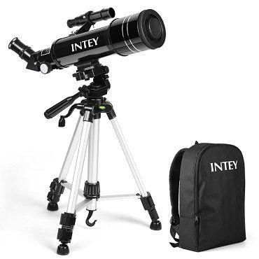 INTEY Teleskop mit 70/400 Refraktor mit Rucksack für 55,99€ (statt 80€)