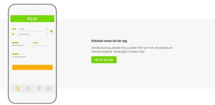TOP! FlixBus App Aktion: Bis 21 Uhr viele Fahrten zu Sonderpreisen ab 5,99€