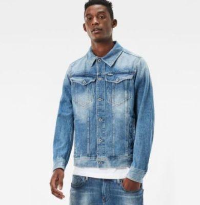 G Star RAW 3301 Deconstructed 3D Herren Slim Jacket für 49,95€ (statt 60€)