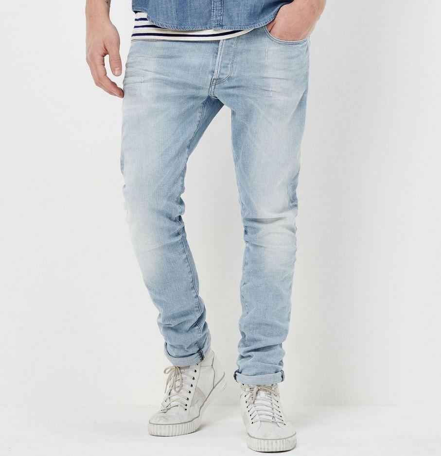 G Star RAW 3301 LtAged Herren Slim Jeans für 46,78€ (statt 62€)