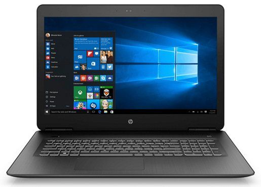 HP 17 ab332ng Notebook mit 17.3, i5, 16GB RAM, 1TB HDD, 128GB SSD, GTX1050 Ti für 899€ (statt 1.079€)