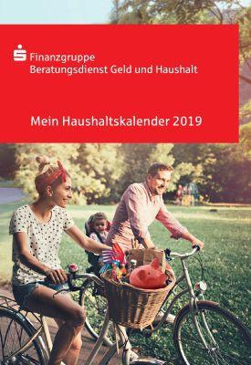 Haushaltskalender 2019, Haushaltsbuch etc. kostenlos anfordern
