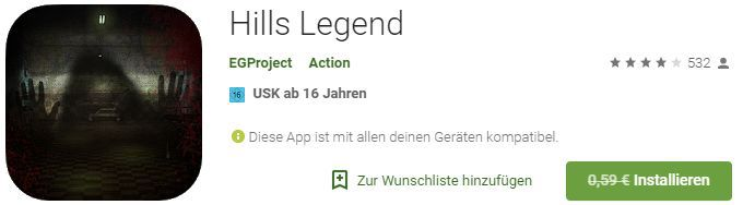 Hills Legend (Android) gratis statt 0,59€