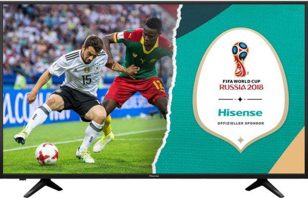Hisense H50AE6030   UHD 50 Zoll TV mit HDR10 inkl. Triple Tuner für 333€ (statt 406€)