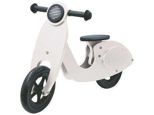 JAMARA Laufrad Holz Roller in weiß für 47€ (statt 61€)
