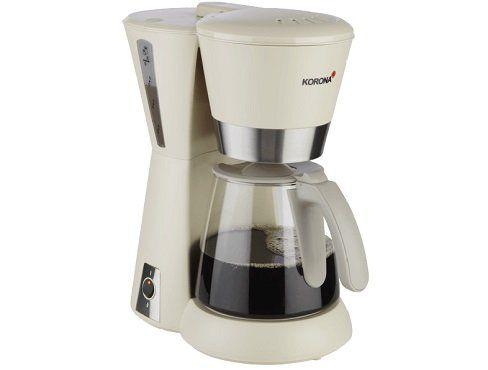 KORONA 10205 Kaffeemaschine in sandgrau für 28€ (statt 35€)