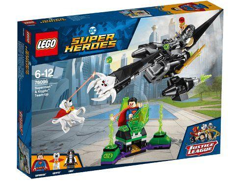 LEGO 76096 Superman & Krypto Team Up Bausatz für 14,99€ (statt 20€)