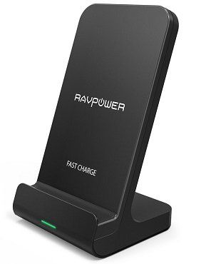 RAVPower RP PC068 Fast Wireless Charger mit Qi Technologie für 12,99€ (statt 17€)