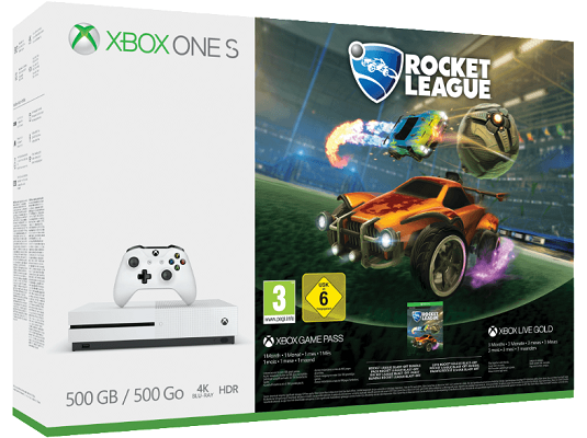 Xbox One S 500 GB   Rocket League Bundle für 173,99€ (statt 203€)