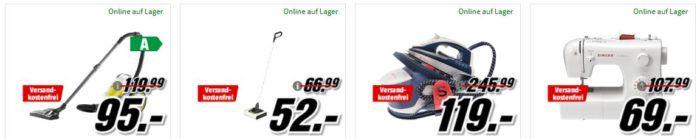 Media Markt Marken Sparen: günstige Artikel von AEG, Beurer, Kärcher und Singer