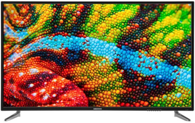 MEDION P15500   55 Zoll UHD TV mit Triple Tuner & PVR für 329,99€