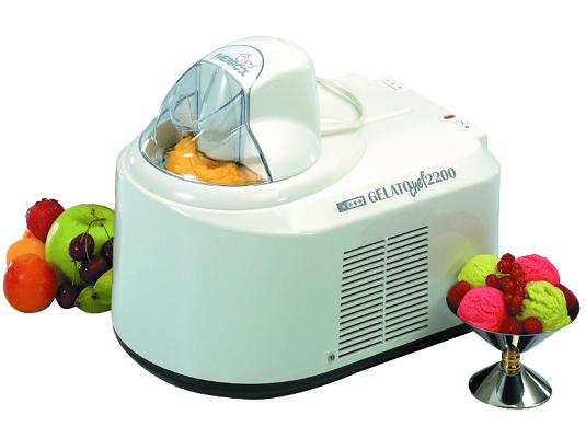 NEMOX Gelato Chef 2200 Eismaschine in rot oder weiß für 100€ (statt 290€)
