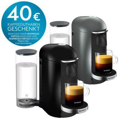 Krups Nespresso XN9000 Vertuo Plus Kaffeekapselmaschine für 129,90€ (statt 149€) + 40€ Kapsel Gutschein