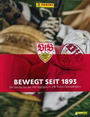 125 Jahre VfB Stuttgart Panini Sammelalbum gratis