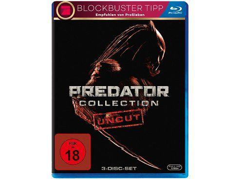 Predator Collection 1 3 Uncut als Blu ray ab 12€ (statt 23€)