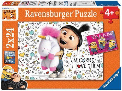 RAVENSBURGER Agnes und die Minions Puzzle für 4€ (statt 6€)