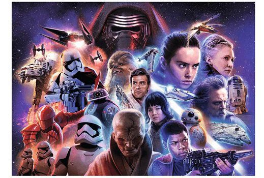 RAVENSBURGER SW   Star Wars Collection 4 Puzzle für 8€ (statt 12€)