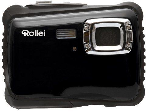 ROLLEI Sportsline 64 wasserdichte Digitalkamera in Schwarz für 27€ (statt 37€)