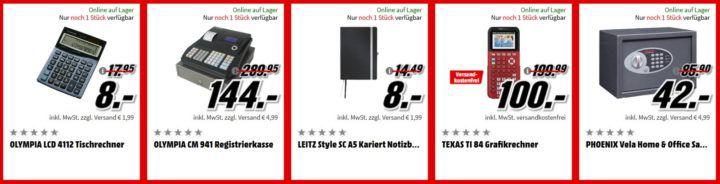 Media Markt Büro Tiefpreis Woche: heute z.B. PANASONIC KX TGQ200 Schnurloses Telefon für 15€ (statt 35€)