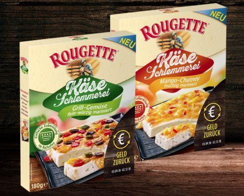 Rougette Käse Schlemmerei gratis   bald Aktionsende!