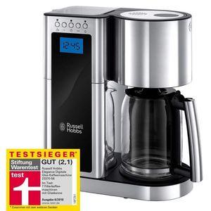 RUSSELL HOBBS Elegance Filter Kaffeemaschine mit Schnellheizsystem 10 Tassen für 69,99€ (statt €82)