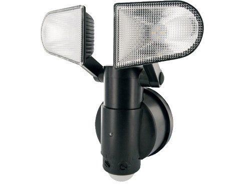 SCHWAIGER LED Sensorleuchte mit Bewegungsmelder und 2 Lampen für 19€ (statt 30€)