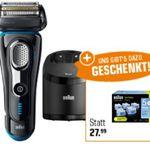Braun 9280CC Series 9 Elektro-Rasierer + 6er Pack Braun Reinigungskartuschen für 199€ (statt 274€)