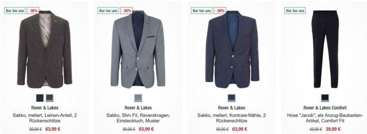 Galeria Kaufhof Sonntagsangebote   20% Rabatt auf Herrensakkos & Anzüge, Damenhosen und vieles mehr