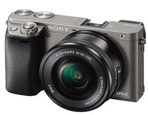 SONY Alpha 6000 LH Systemkamera Kit inkl. SEL P1650 Objektiv für 489€ (statt 532€)