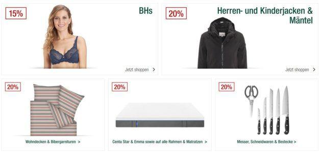 Galeria Kaufhof Sonntagsangebote   20% Rabatt auf Messer, Schneidwaren & Bestecke von WMF, Zwilling uvm.