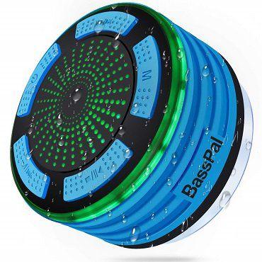 BassPal wasserdichter Bluetooth Lautsprecher für 14,99€ (statt 30€)