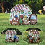 Homfu Spielzelt für Kinder im Hexenhaus-Stil für 16,79€ (statt 28€)