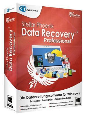 Vorbei! Stellar Phoenix Windows Data Recovery 7 Professional (Vollversion) gratis