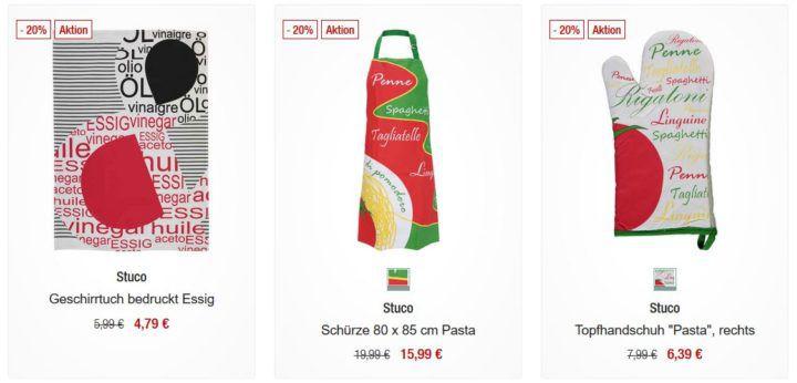 Galeria Kaufhof Dienstag Angebote: heute 20% Rabatt auf ausgewählte Haushaltswäsche (Badartikel, Dekokissen, Tischwäsche, Küchentextilien)