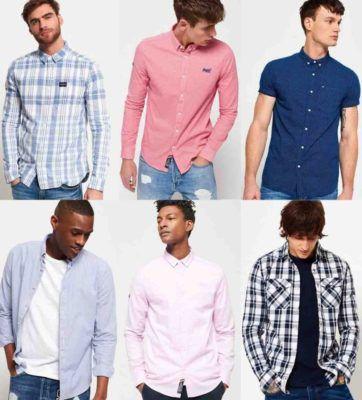 Superdry Herren Hemden   neue Modelle für je 27€