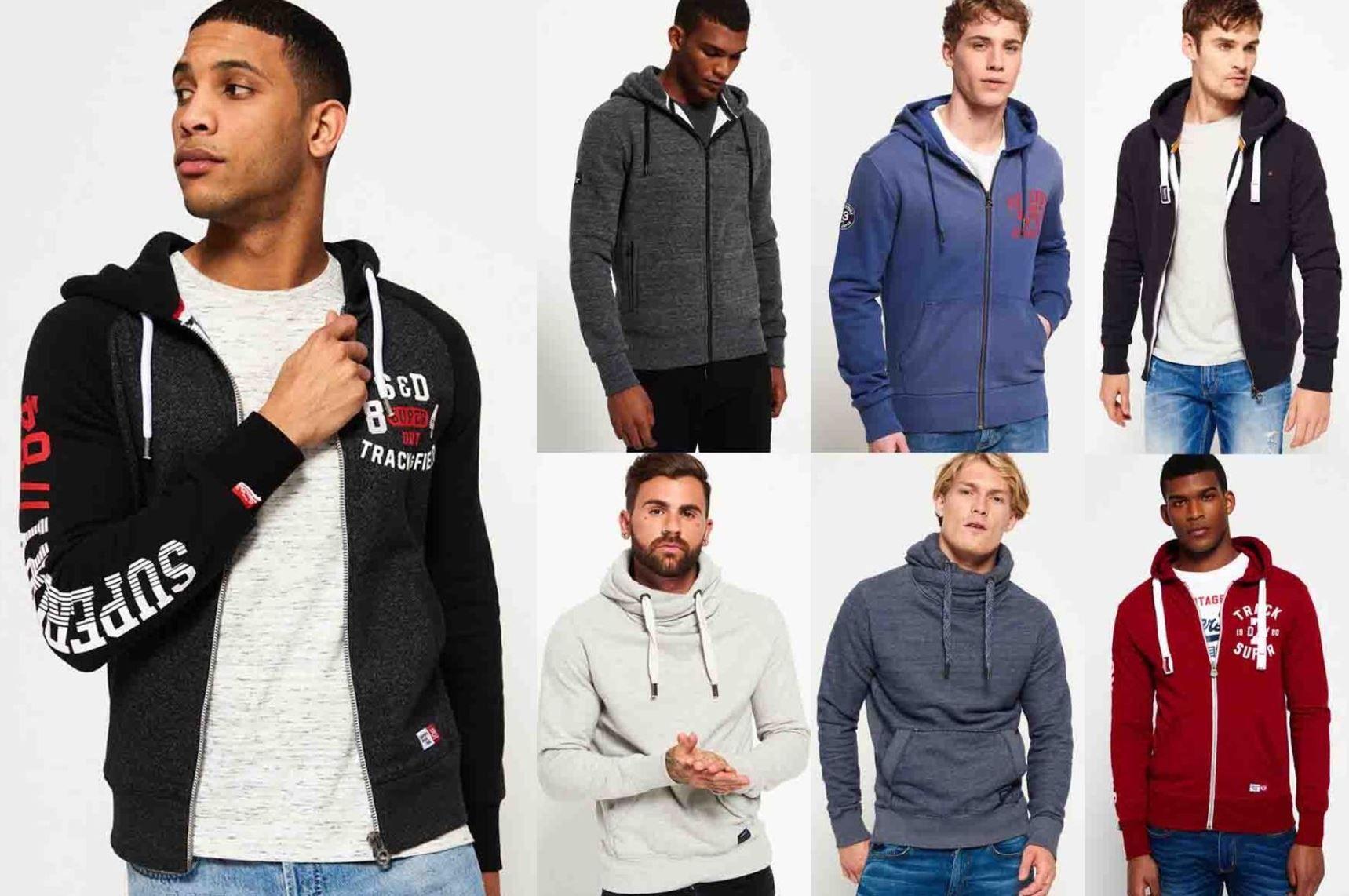 Superdry   28 neue Herren Hoodies für je 34,95€ (statt 44€)