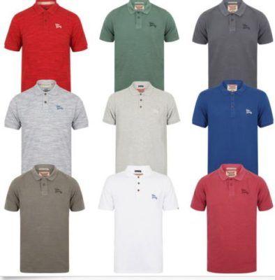 Tokyo Laundry Herren Cotton Spacedye Pique Polo Shirts für je 13,99€ (statt 20€)