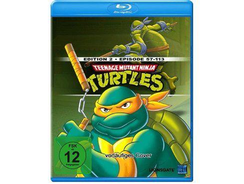 Teenage Mutant Ninja Turtles   Episoden 57 113 (Blu ray) für 10€ (statt 25€)