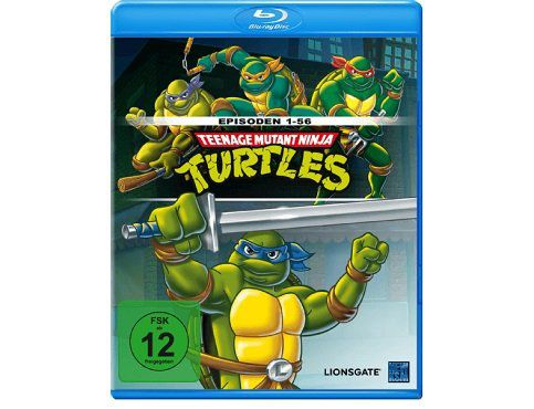 Teenage Mutant Ninja Turtles   Episode 1 56 (Blu ray) für 10€ (statt 22€)
