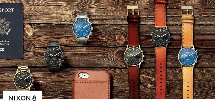NIXON Uhren Sale bei Vente Privee   z.B. Chronograph Bullet in roségold ab 99,99€ (statt 246€)