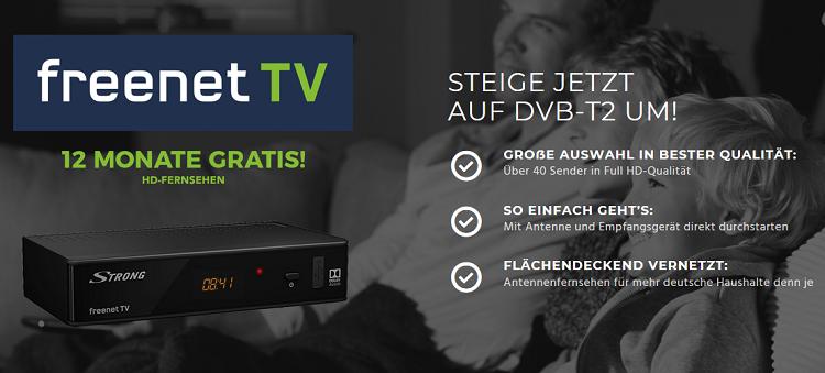 24 Monate freenet TV für eff. 2,88€ mtl.   Receiver für einmalig 9,95€ möglich