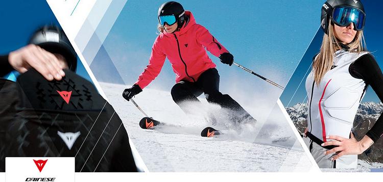 Dainese: Ski  und Motorradbekleidung bei Vente Privee mit bis zu 62% Ersparnis